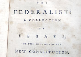 federalist essays were written by